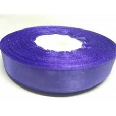 Лента атласная фиолетовая