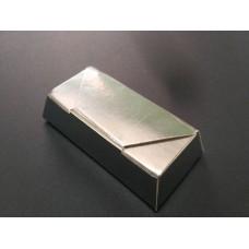 "Коробка ""Конфета"". Размер 73*35*15. Серебро"