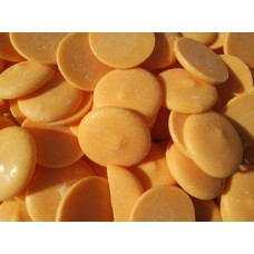 Глазурь кондитерская оранжевые диски, 200 г