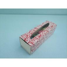 "Коробка для макаронс ""Красная"", 170*55*50"