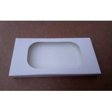 Коробка для плитки шоколада белая 1, 160*80*15