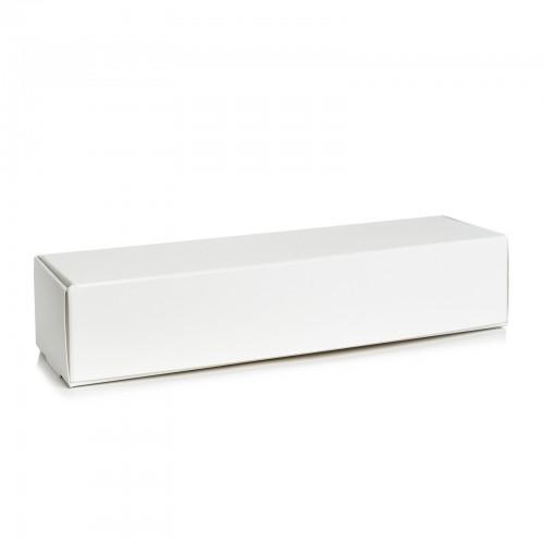 Коробка для макарон Белая,  без окошка.Размер 170*55*50.