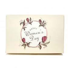 """Коробка для эклеров """"Happy Women's Day"""", 225*150*60"""