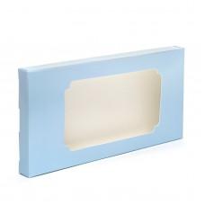 """Коробка для плитки шоколада """"Голубая"""", 160*80*15"""