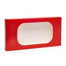 "Коробка для плитки шоколада ""Красная"", 160*80*15"