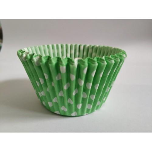 """Тарталетка """"Горошек светло-зеленый"""", 50 шт."""
