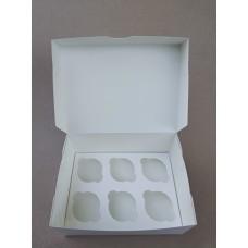 Коробка на 6 капкейков, 240*180*110