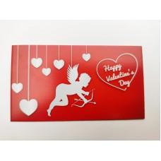 """Бирка """"Happy Valentine's Day"""", №2, 50*90, 20 шт."""