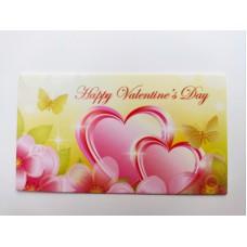 """Бирка """"Happy Valentine's Day"""", №3, 50*90, 20 шт."""