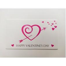 """Бирка """"Happy Valentine's Day"""", №4, 50*90, 20 шт."""