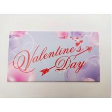 "Бирка ""Valentine's Day"", №5, 50*90, 20 шт."