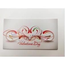 "Бирка ""Valentine's Day"", №6, 50*90, 20 шт."
