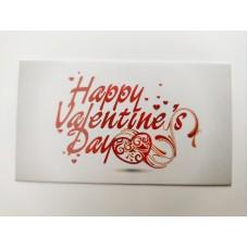 """Бирка """"Happy Valentine's Day"""", №9, 50*90, 20 шт."""