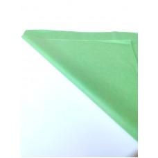 Бумага тишью светло-зеленая, 50*75, 10 шт.
