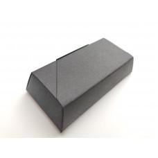 """Коробка """"Конфета"""" черная из дизайнерского картона, 73*35*15"""