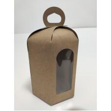 Коробка для пасхи из крафта, 170*240