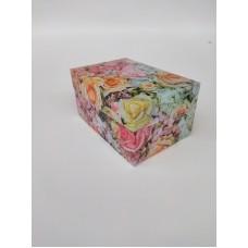 """Коробка """"Цветы"""" на 2 капкейка, 160*110*85"""