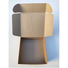 Коробка для макаронс, эклеров, крафт, 150*150*50