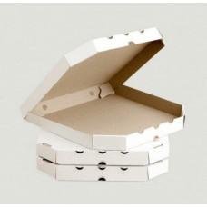 Коробка для пиццы бело-бурая, 320*320*35
