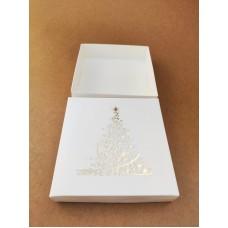 """Коробка """"Новогодняя"""" с тиснением золотом, 150*150*35"""