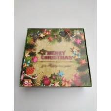 "Коробка ""Merry Christmas & Happy new year"", 150*150*50"