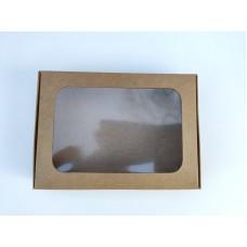 Коробка из крафта для пряников, печенья, 150*110*30