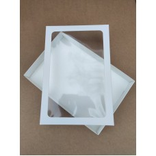 Коробка для пряников (прямоугольное окно), 300*200*30