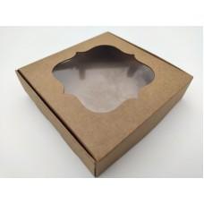 Коробка крафт для пряника, 120*120*30