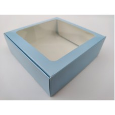 "Коробка ""Голубая"" с окном, 150*150*50"