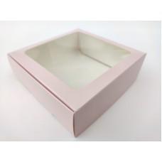 """Коробка """"Пудра"""" с окном, 150*150*50"""