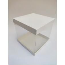 Коробка для торта с прозрачными стенками, 196*196*200