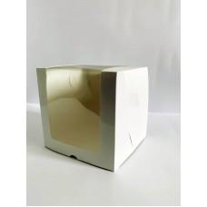 Коробка для торта с глянцевой ламинацией. 200*200*200