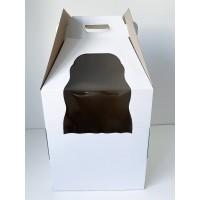 Коробка для ярусных тортов с окном, 360*360*580