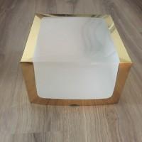 """Коробка для торта """"Золото"""", 300*300*150"""
