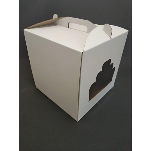 Коробка для торта с окном, 300*300*300