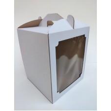 Коробка для торта с окном, 250*250*300