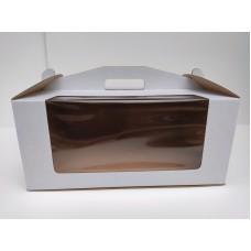 Коробка для торта с окном, 305*405*180