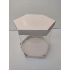 """Коробка """"Шестигранная"""" для торта, цветов"""