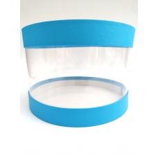 """Коробка """"Тубус"""" синяя для муссовых тортов, 250*165"""