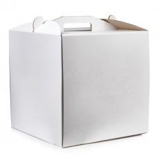 Коробка для торта из микрогофры, размер  250*250*150