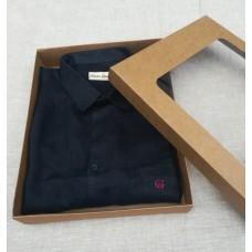 Коробка для полотенец, одежды (с окном), 250*190*50