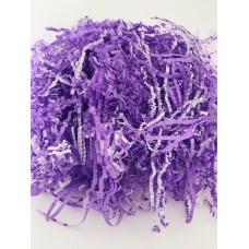 Наполнитель для коробок, фиолетово-белый