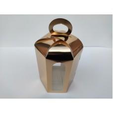 """Коробка """"Пасха золото"""", 150*180(диаметром 130мм.)"""