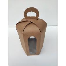 "Коробка ""Пасха крафт"", 150*180(диаметром 130мм.)"