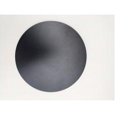 Подложка ХДВ черная, диаметр 250 мм