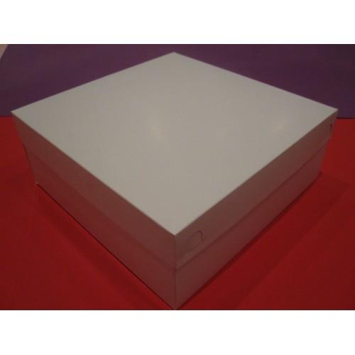 Коробка для торта,пирожного и сладостей.Размер 270*270*105 мм.