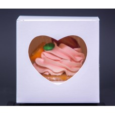 Cardboard packaging for 1 cupcake
