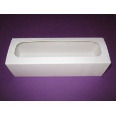 Коробка для макарон Белая.Размер 170*55*50