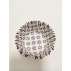 Тарталетка Фиолетовые цветы, 50 штук