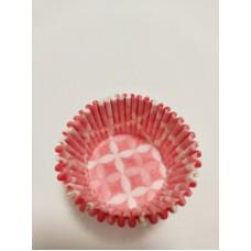 Тарталетка Розовые ромбы, 50 штук